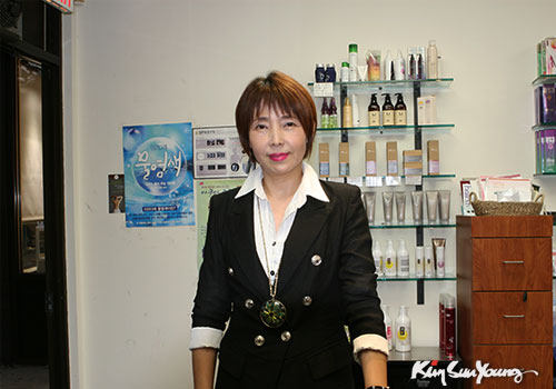 Kim Sun Young Hairsalon NJ Hairdesigner Sandra Moon